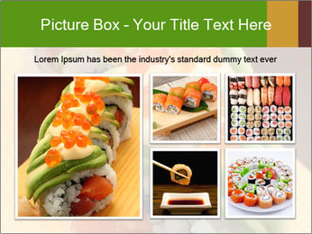 Sushi PowerPoint Template - Slide 19