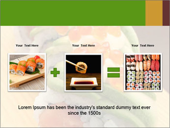 Sushi PowerPoint Template - Slide 22