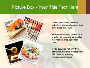 Sushi PowerPoint Template - Slide 23