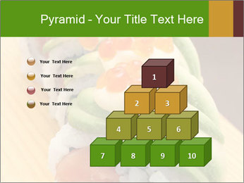 Sushi PowerPoint Template - Slide 31