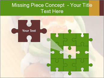 Sushi PowerPoint Template - Slide 45