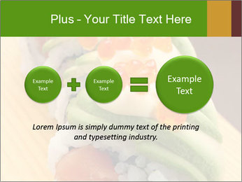 Sushi PowerPoint Template - Slide 75