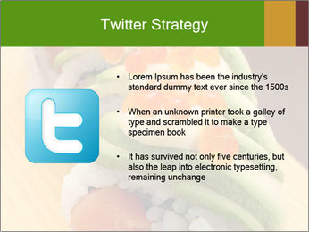 Sushi PowerPoint Template - Slide 9