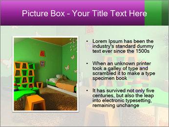 Children's room PowerPoint Template - Slide 13