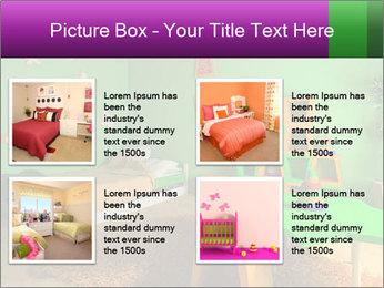 Children's room PowerPoint Template - Slide 14