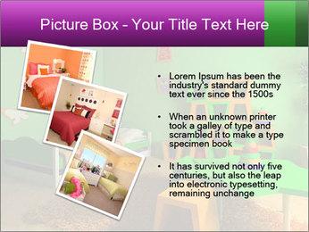 Children's room PowerPoint Template - Slide 17