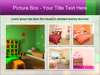 Children's room PowerPoint Template - Slide 19