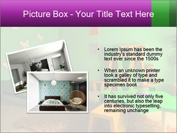 Children's room PowerPoint Template - Slide 20