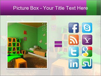 Children's room PowerPoint Template - Slide 21