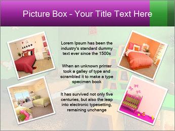 Children's room PowerPoint Template - Slide 24