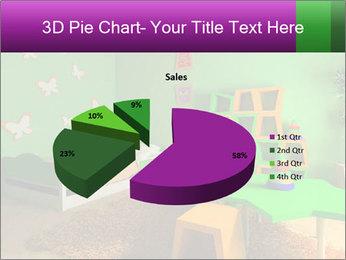 Children's room PowerPoint Template - Slide 35