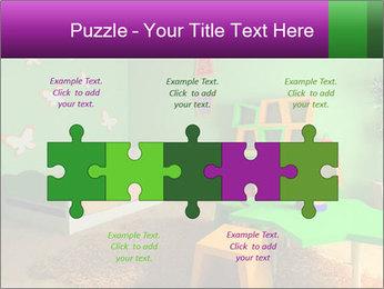 Children's room PowerPoint Template - Slide 41