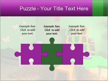 Children's room PowerPoint Template - Slide 42