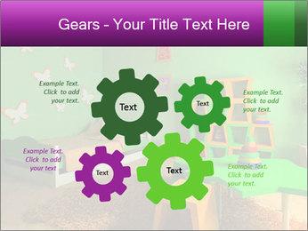 Children's room PowerPoint Template - Slide 47
