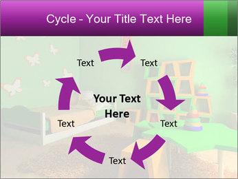 Children's room PowerPoint Template - Slide 62