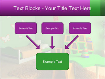 Children's room PowerPoint Template - Slide 70