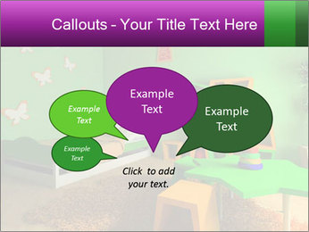 Children's room PowerPoint Template - Slide 73