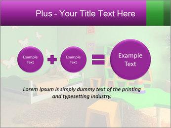 Children's room PowerPoint Template - Slide 75