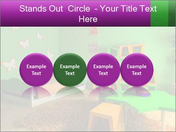 Children's room PowerPoint Template - Slide 76