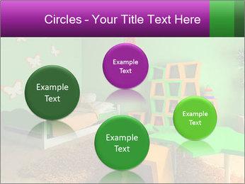 Children's room PowerPoint Template - Slide 77