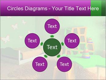 Children's room PowerPoint Template - Slide 78
