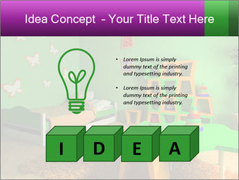Children's room PowerPoint Template - Slide 80