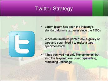 Children's room PowerPoint Template - Slide 9