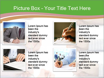 Collection of hands PowerPoint Template - Slide 14