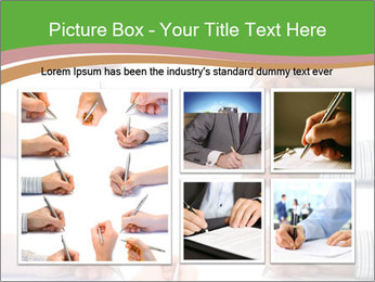 Collection of hands PowerPoint Template - Slide 19