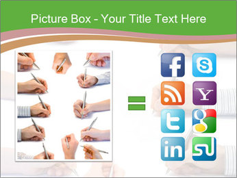 Collection of hands PowerPoint Template - Slide 21