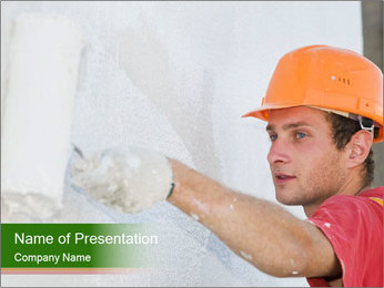 Builder PowerPoint Template - Slide 1