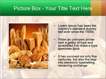 Variety of bread PowerPoint Template - Slide 13