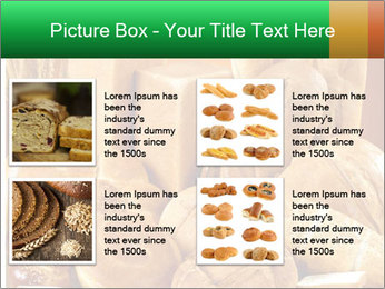 Variety of bread PowerPoint Template - Slide 14