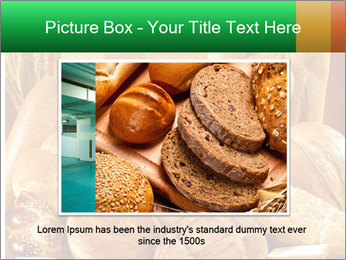 Variety of bread PowerPoint Template - Slide 15