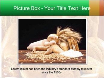 Variety of bread PowerPoint Template - Slide 16