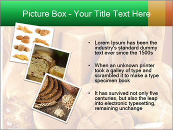 Variety of bread PowerPoint Template - Slide 17