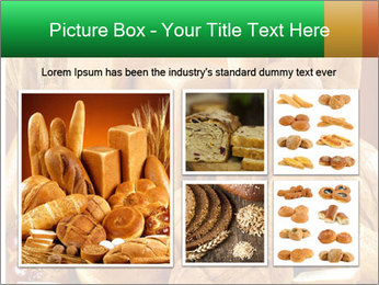 Variety of bread PowerPoint Template - Slide 19
