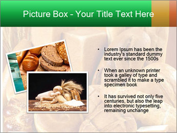 Variety of bread PowerPoint Template - Slide 20