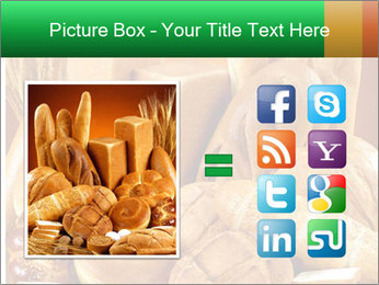 Variety of bread PowerPoint Template - Slide 21