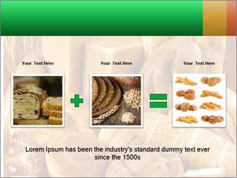 Variety of bread PowerPoint Template - Slide 22