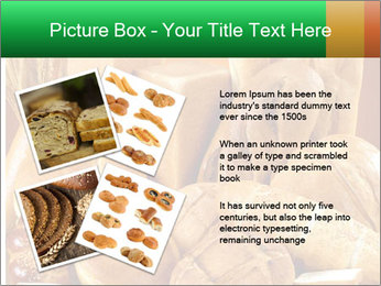 Variety of bread PowerPoint Template - Slide 23