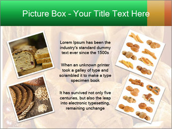 Variety of bread PowerPoint Template - Slide 24