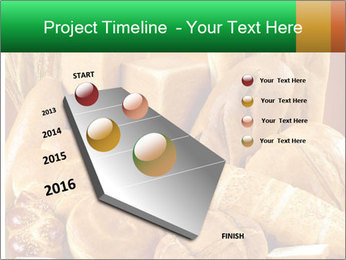 Variety of bread PowerPoint Template - Slide 26
