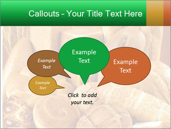 Variety of bread PowerPoint Template - Slide 73