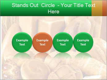Variety of bread PowerPoint Templates - Slide 76