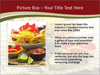 Bowl of salsa PowerPoint Template - Slide 13
