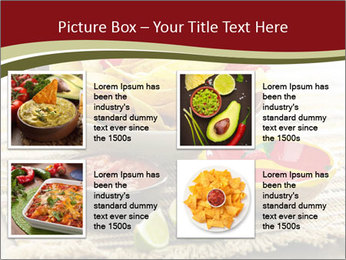 Bowl of salsa PowerPoint Template - Slide 14