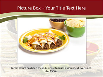 Bowl of salsa PowerPoint Template - Slide 16