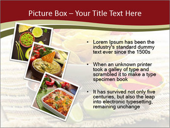 Bowl of salsa PowerPoint Template - Slide 17