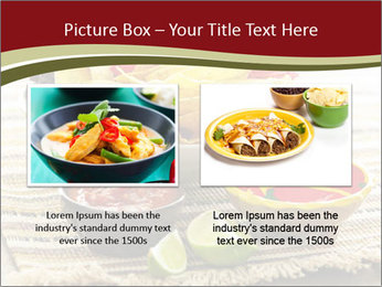 Bowl of salsa PowerPoint Template - Slide 18